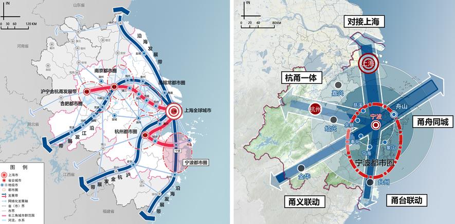 宁波城市发展的空间格局是怎样的?区域格局如何?